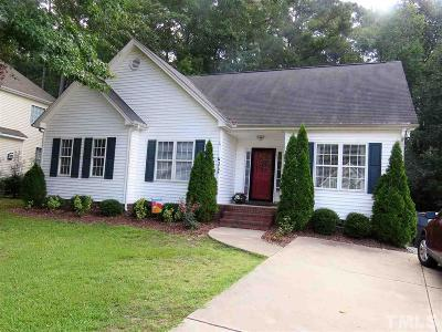 Apex Single Family Home For Sale: 2708 Glastonbury Road