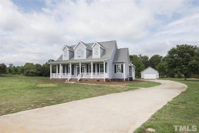 Angier Single Family Home Pending: 5181 Old Stage Road