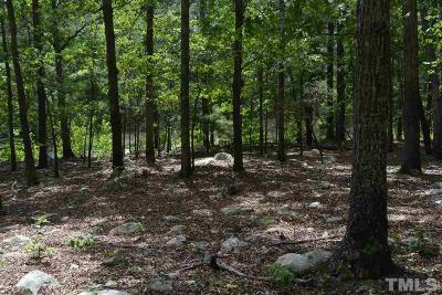 Chatham County Residential Lots & Land Contingent: 708 Jack Bennett Road