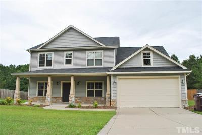 Lillington Single Family Home For Sale: 131 Executive Drive