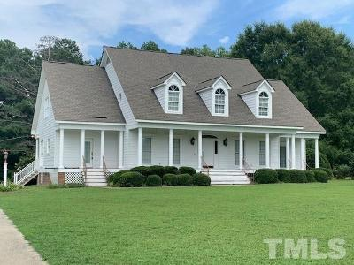 Angier Single Family Home Pending: 40 High Meadow Drive