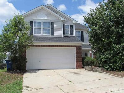 Raleigh Single Family Home Contingent: 4809 Mocha Lane