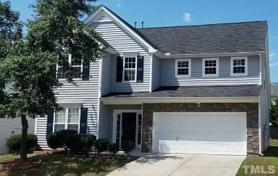 Raleigh NC Single Family Home For Sale: $264,900