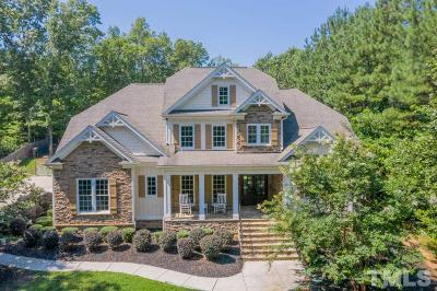 Wake Forest Single Family Home Contingent: 6309 Mountain Oaks Way