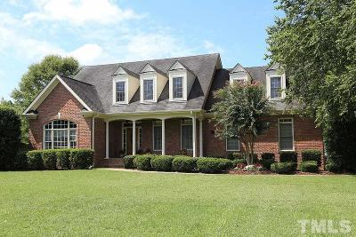 Fuquay Varina Single Family Home For Sale: 4225 Stansted Drive