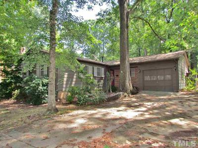 Cary Single Family Home Contingent: 821 Pamlico Drive