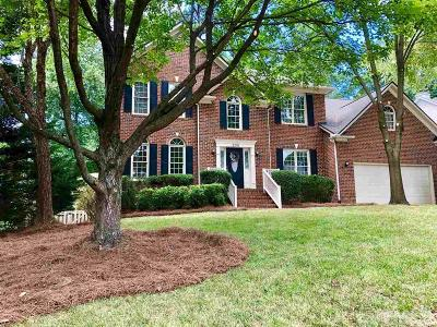 Cary Single Family Home Contingent: 205 Danton Drive