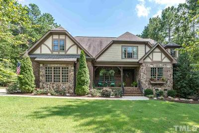 Wake Forest Single Family Home For Sale: 1198 Smith Creek Way