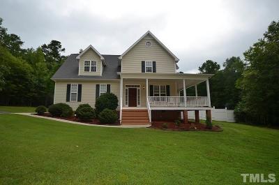 Pittsboro Single Family Home For Sale: 50 Jacob Way