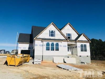 Clayton Single Family Home For Sale: Pistoia Drive #Lot 511