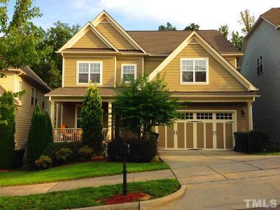 Raleigh Single Family Home For Sale: 2237 Dunlin Lane