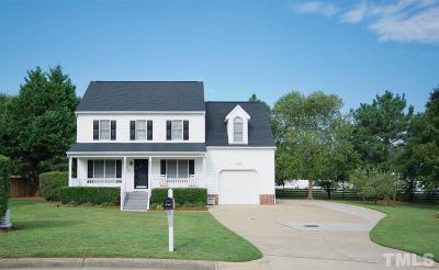 Wake Forest Single Family Home Contingent: 1300 Old Pond Court