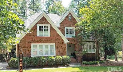 Cary Single Family Home For Sale: 203 Edgemore Avenue