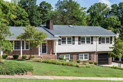 Raleigh Single Family Home For Sale: 1012 Deboy Street