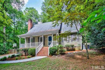 Wake Forest Single Family Home Contingent: 7228 Rabbit Run