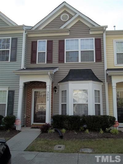 Durham County Rental For Rent: 3003 Courtney Creek Boulevard