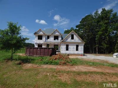 Youngsville Single Family Home For Sale: 100 To Be Added Drive