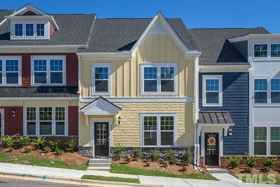 Wake Forest Townhouse For Sale: 537 S Brooks Street