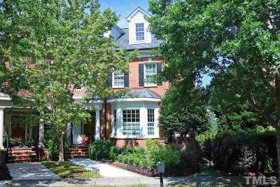 Chapel Hill Townhouse For Sale: 207 Oval Park Place