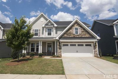 Raleigh Single Family Home For Sale: 8019 Gilano Drive