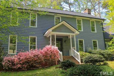 Cary Single Family Home Contingent: 101 Springbrook Place