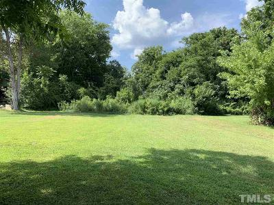 Chatham County Residential Lots & Land Pending: 611 W 3rd Street
