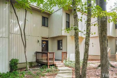 Cary Townhouse For Sale: 457 Pebble Creek Drive