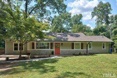 Chapel Hill Single Family Home For Sale: 437 Northside Drive