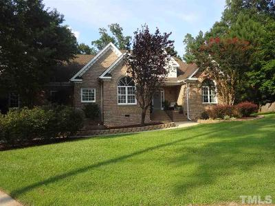 Holly Springs Single Family Home Pending: 204 Weatherbend Court