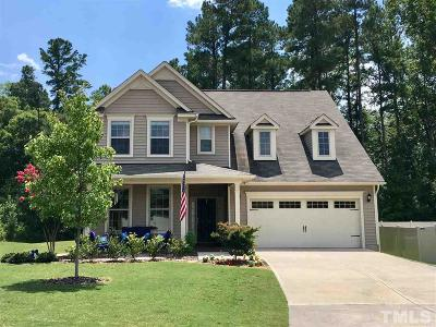 Wake Forest Single Family Home Contingent: 2368 Everstone Road