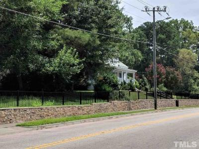 Wake County Commercial Lots & Land Pending: 425 & 435 Wait Avenue