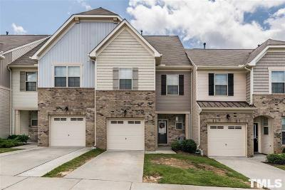 Cary Townhouse For Sale: 105 Marsena Lane