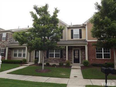 Cary Townhouse For Sale: 4113 Overcup Oak Lane