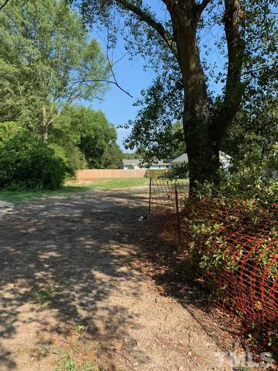 Apex Residential Lots & Land For Sale: 316 N Mason Street