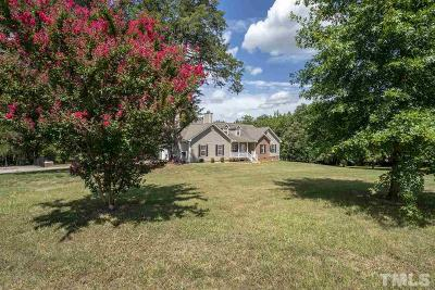 Granville County Single Family Home Contingent: 7553 Sam Hall Road