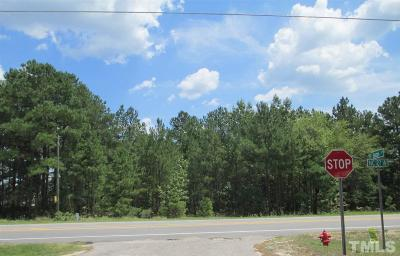 Harnett County Residential Lots & Land For Sale: 2.5 Acres W Nc 27 Highway