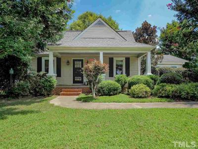 Pittsboro Single Family Home Contingent: 631 Sanford Road