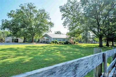 Granville County Single Family Home For Sale: 8162 Crawford Currin Road