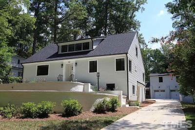 Wake Forest Single Family Home For Sale: 413 Woodland Drive