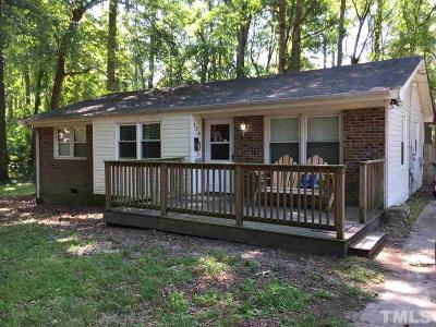 Cary Single Family Home For Sale: 124 Pleasants Avenue