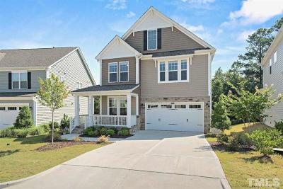 Cary Single Family Home Contingent: 244 Turner Oaks Drive