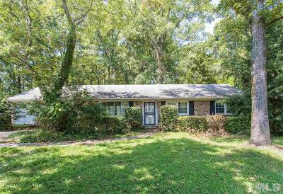 Durham Single Family Home For Sale: 4626 Pinedale Drive