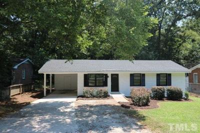 Wake Forest Single Family Home For Sale: 544 N White Street