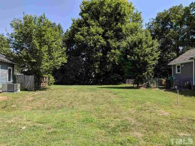 Raleigh Residential Lots & Land For Sale: 711 Holden Street