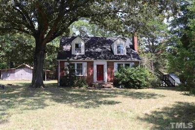 Oxford Single Family Home For Sale: 1223 Us 158