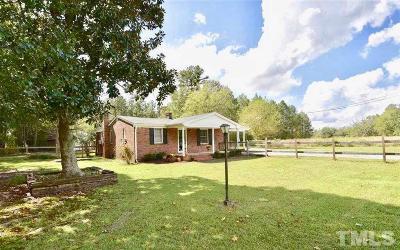 Lillington Single Family Home For Sale: 2238 Ross Road