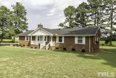 Nash County Single Family Home For Sale: 2031 Red Oak Road