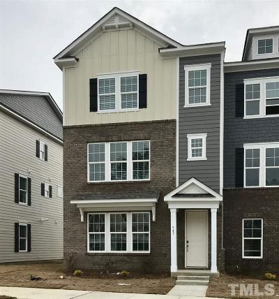 Apex Townhouse For Sale: 947 Haybeck Lane