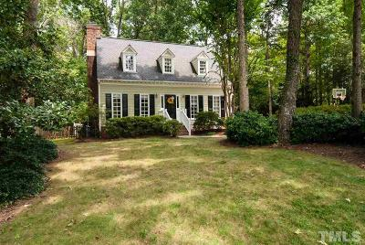 Wake County Single Family Home Contingent: 7824 Highlandview Circle