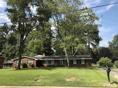 Raleigh Single Family Home For Sale: 323 Golf Course Drive